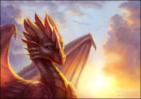 How high do dragons fly? by Red-IzaK