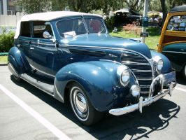 '38 Ford four door convertible by RoadTripDog