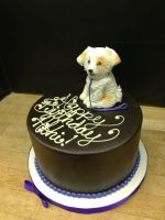 Puppy Cake by Spudnuts