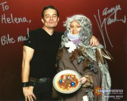 Me with James Marsters by gurihere