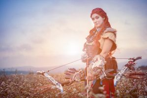Aloy Cosplay from Horizon Zero Dawn by MargaretCosplayArt