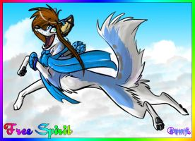 _.+Free Spirit+._ by ThechnoHusky92