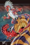 Primal Fighters by DrakainaQueen