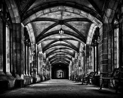University of Toronto Knox College Cloister No 1 by thelearningcurve-da