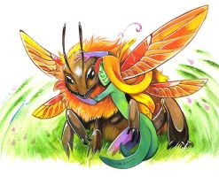 Sable and Spring by Fluro-Knife