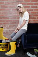 Emily Osment: Cement Galoshes by hemper999