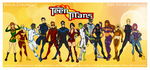 My DCU - Teen Titans Unlimited Redesigns by Femmes-Fatales