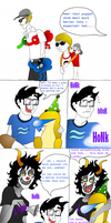 Happy Wriggling Day, Homestuck! by Aquatic-Ibex