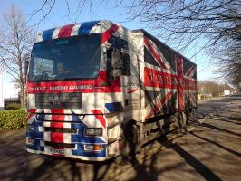 Union Jack Lorry by captainflynn