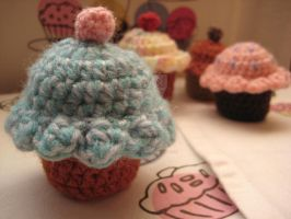 Cute Crochet Cupcake by Somniculosa