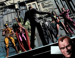 NEW AVENGERS 18: Dark Avengers by Summerset