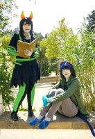 Leo [The Disciple and Nepeta] by Mitsuki-Aizawa