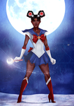 Black Sailor Moon by IsaiahStephens