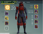 Update on my hunter by Lucariolover1324