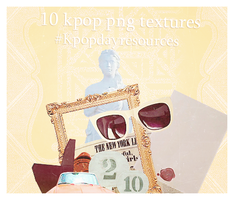 10 kpop png texture @Kpopdayresoucers by Invasionomercy