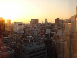Good Morning Tokyo by thewordlesssignature