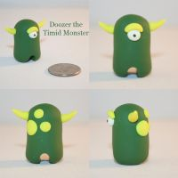 Doozer the Timid Monster by TimidMonsters