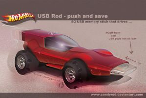 USB toy car by candyrod