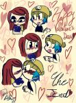 Valentine's Day with GrojBand by JaneDiamond31