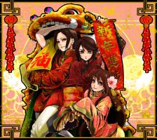 Hetalia - Chinese New Year by ihirotang