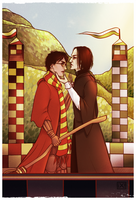 HP: Severus Snape/Harry Potter by maryallen138