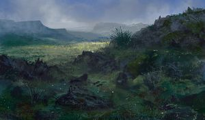 Environment Speed Paint 6 by Lyno3ghe