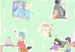 South park couples by olciasmile