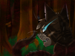 'And rise to the top now' || Hawkfrost || WC by Meow-Kitty-Kat
