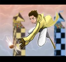 Cedric Amos Diggory Color by duendefranco
