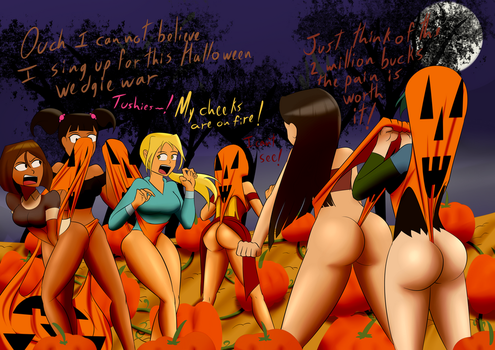 Total wedgie Halloween by the-killer-wc