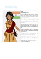 Hetalia AP - India OC by Toonwalla