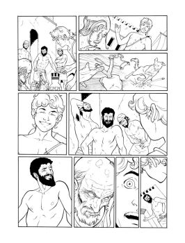 Ares Page26-inks by JorgeCorrea