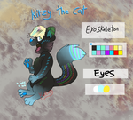 FNaF OC Adoptable - Kitzy The Cat (CLOSED) by MochiFries