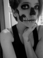 Skull Makeup 2 by NagaTragic