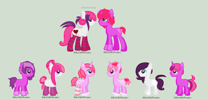 Cherished Rose Breeding Results 2 :OPEN Adopts: by HopeForTheFuture13