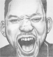 Will Smith Drawing by shawitsart