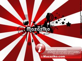 wallpaper for mazaziko graphic by ohmto