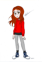 Amy Pond by LillyCrystal