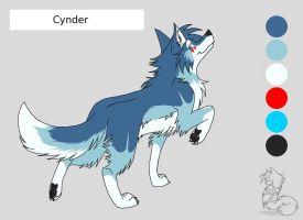 Cynder Ref Sheet by Warrioratheart
