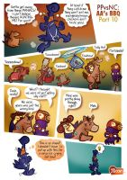Pirate Penguin: AA's BBQ part 10 by raisegrate