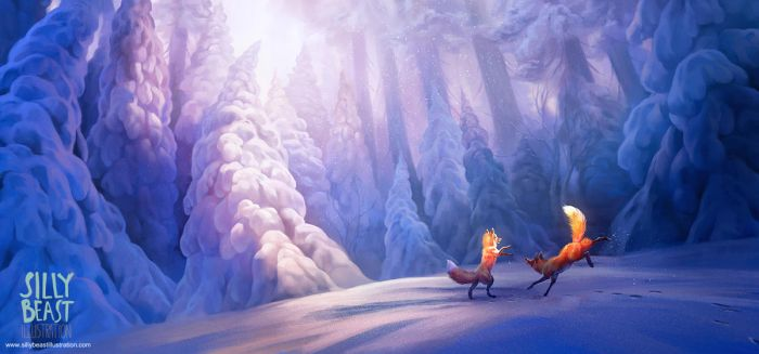 Fox Forest by ailah