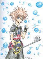 Sora- KH2 style by Tamao
