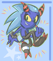 Zonic the lost zeti? :D by chibiirose