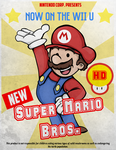 Super mario 1950s by Uncorrupted