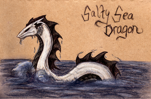 Salty the Cursed Sea Dragon by Jetstream1118