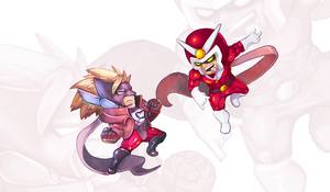 Wonderful vs Viewtiful by Orkimides