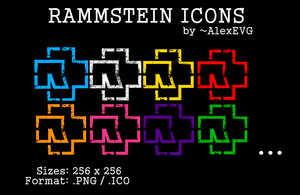 Rammstein Icons by AlexEVG
