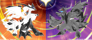 Necrozma Infection : Reshiram and Zekrom