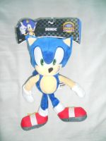 Sonic 12'' Modern Plushie by BoomSonic514