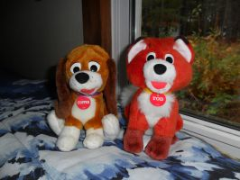 Fox and the Hound plush by Pega-Flair